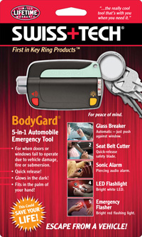BodyGard® 5-In-1 Emergency Tool w/Clamshell