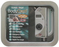 BodyGard® 7-In-1 Platinum Series Emergency Tool w/Window Tin