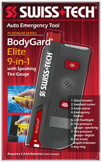 BodyGard Elite 9-in-1 w/Clamshell
