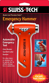 Emergency Hammer w/Clamshell