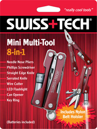 Mini Multi-Tool 8-in-1 w/Clamshell