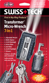 Transformer® Micro-Wrench 7-in-1 w/Clamshell